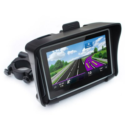 4.3 inch 8GB Car GPS NAV Navigation Navigator with Free MapsOther  Motorcycle Accessories<br>4.3 inch 8GB Car GPS NAV Navigation Navigator with Free Maps<br><br>Type: GPS<br>CPU: MSB2531<br>Function: Music/Video player,Photo browser,Game player,Volume/backlight adjusting,FM Transmitter,MP3/MP4 Players,E-book<br>Operating system: Windows CE 6.0<br>About Maps : Europe, South / North America, Oceania, Southeast Asia, Middle East + Africa for option<br>Color: Black<br>RAM: 128MB<br>Memory: 8GB<br>Memory card support: SD card<br>Memory support : SD card<br>External memory card  : SD 8GB(not included)<br>Screen size: 4.3inch<br>Port: Mini USB port,SD Card Slot<br>Charging way: Car charger<br>Input: DC 9 - 24V / AC 110 - 230V<br>Battery: Built-in 3.7V 1900mAh li-ion battery<br>Video: AVI,ASF,MP4,WMV<br>Music: WMA,MP3<br>Picture: BMP,PNG,JPG<br>E-book: TXT<br>Screen resolution: 480 x 272<br>Touch-screen: Yes<br>Operating temperature : 0 - 60 centigrade degree<br>Storage temperature : -20 - 60 centigrade degree<br>Product weight: 0.800 kg<br>Package weight: 1.050 kg<br>Product size (L x W x H): 13.000 x 8.800 x 2.000 cm / 5.118 x 3.465 x 0.787 inches<br>Package size (L x W x H): 21.500 x 17.500 x 13.500 cm / 8.465 x 6.890 x 5.315 inches<br>Package Contents: 1 x Car GPS, 1 x Suction Cup, 1 x Bracket, 1 x Back Cover, 1 x USB Cable, 1 x Car Charger, 1 x Connection Cable, 5 x Screw, 1 x English User Manual