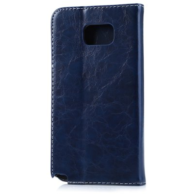 ФОТО Magnetic Flip Leather Case Cover for Samsung Note5