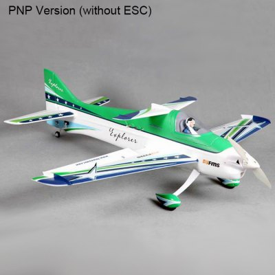 FMS 1020MM F3A RC Fixed-wing Aeroplane PNP Version 3S Power without ESC
