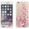 cheap Angibabe 2 in 1 Tempered Glass Screen Film Back Protector for iPhone 6 Plus / 6S Plus Flower