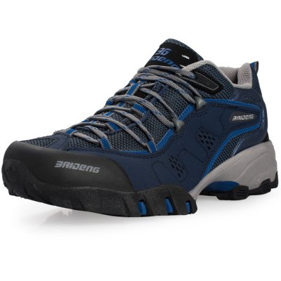 Outdoor Men Breathable Mesh Trekking ShoesShoes<br>Outdoor Men Breathable Mesh Trekking Shoes<br><br>Size: 41,40,42,43,44,45<br>Gender: Men<br>Season: Autumn,Spring,Summer,Winter<br>Closure Type: Lace-Up<br>Sole Material: Rubber<br>Lining Material: Mesh<br>Upper Height: Middle<br>Highlights: Sweat Absorbing,Soft,Breathable<br>Product weight: 1.300 kg<br>Package weight: 1.730 kg<br>Package size: 32.000 x 24.000 x 12.000 cm / 12.598 x 9.449 x 4.724 inches<br>Package Contents: 1 x A Pair of Trekking Shoes