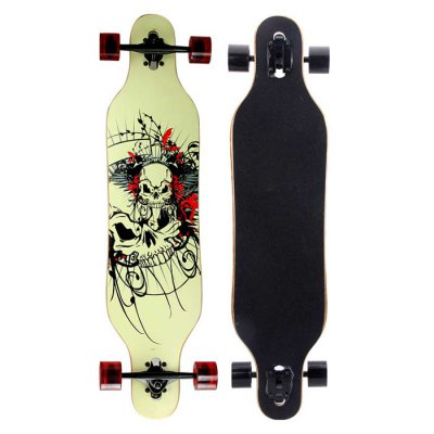 Puente 40.9 Inches ABEC-9 9-layer Maple Longboard