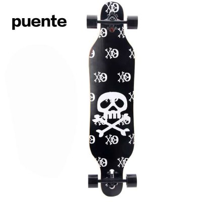 Puente 40.9 Inches ABEC-9 9-layer Maple LongboardSkateboard<br>Puente 40.9 Inches ABEC-9 9-layer Maple Longboard<br><br>Brand: Puente<br>Board Material: Maple<br>Product weight: 3.200KG<br>Package weight: 3.830 KG<br>Product size: 104.000 x 26.000 x 10.000 cm / 40.945 x 10.236 x 3.937 inches<br>Package size: 105.000 x 30.000 x 11.000 cm / 41.339 x 11.811 x 4.331 inches<br>Package Content: 1 x Puente Longboard, 1 x T-shape Tool, 8 x ABEC-9 Bearing, 1 x Hand Protector