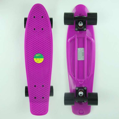 Puente 22.2 Inches ABEC-9 Fish Board for Skating