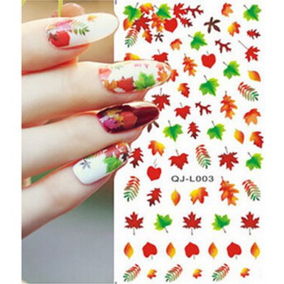 DIY Maple Butterfly Nail Art Decoration StickerNail Sticker<br>DIY Maple Butterfly Nail Art Decoration Sticker<br><br>Type: Trendy<br>Features: Lightweight,Easy to Carry,Environment Friendly<br>Functions: Comestic for Party,Waterproof<br>Product weight: 0.010 kg<br>Package weight: 0.040 kg<br>Product size (L x W x H): 9.100 x 5.200 x 0.100 cm / 3.583 x 2.047 x 0.039 inches<br>Package size (L x W x H): 12.800 x 5.400 x 1.000 cm / 5.039 x 2.126 x 0.394 inches<br>Package Contents: 1 x Nail Sticker