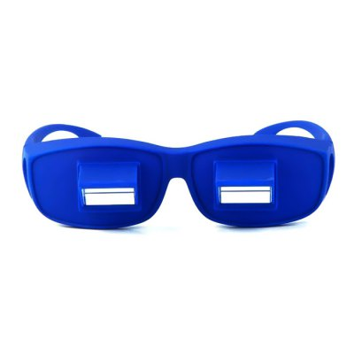 Bed Prism Spectacles Lazy Glasses for TV / Book Reading Health CareNovelty Toys<br>Bed Prism Spectacles Lazy Glasses for TV / Book Reading Health Care<br><br>Materials: Plastic<br>Theme: Other<br>Features: Model<br>Series: Lifestyle<br>Package weight: 0.090 kg<br>Package size: 17.000 x 4.000 x 6.000 cm / 6.693 x 1.575 x 2.362 inches<br>Package Contents: 1 x Lazy Glasses