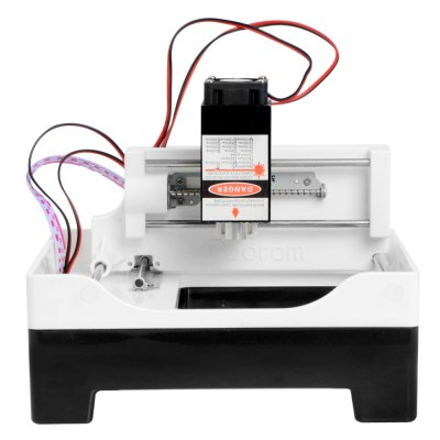 500mw Mini Laser Engraving Machine3D Printers, 3D Printer Kits<br>500mw Mini Laser Engraving Machine<br><br>Engraving Area: 69 x 68mm<br>Engraving Accuracy: 0.075mm<br>Voltage: 12V<br>Working Power: 500mw<br>Packing Type: Assembled packing<br>Product weight: 1.000 kg<br>Package weight: 1.420 kg<br>Product size: 17.500 x 16.000 x 11.500 cm / 6.890 x 6.299 x 4.528 inches<br>Package size: 27.000 x 21.000 x 17.000 cm / 10.630 x 8.268 x 6.693 inches<br>Packing Contents: 1 x Laser Engraving Machine, 1 x Laser Head, 1 x USB Cable, 1 x Power Adapter, 1 x Eyeglasses, 1 x Wooden Chip