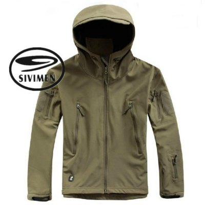 SIVIMEN Male Camouflage Jacket with Velcro CuffOutdoor Jackets<br>SIVIMEN Male Camouflage Jacket with Velcro Cuff<br><br>Gender: Men<br>Activity: Camping and Hiking,Outdoor Lifestyle,Climbing,Fishing,Cycling<br>Size: S,M,L,XL,XXL<br>Material: Fleece<br>Features: Wear Resistant,Windproof,Keep Warm<br>Product weight: 1.000 kg<br>Package weight: 1.220 kg<br>Product size: 71.000 x 52.000 x 0.500 cm / 27.953 x 20.472 x 0.197 inches<br>Package size: 36.000 x 29.000 x 4.000 cm / 14.173 x 11.417 x 1.575 inches<br>Package Content: 1 x SIVIMEN Male Camouflage Hooded Jacket