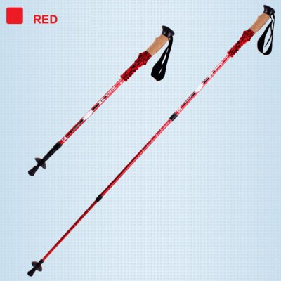 Hewolf Three Sections Telescopic Alpenstock