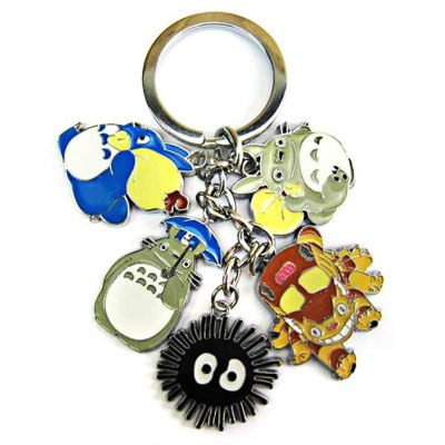 HALDER XA388 My Neighbor Totoro Figure 5 in 1 Keychain