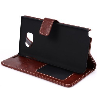 Magnetic Card Slot Wallet Stand Leather Flip Case for Samsung Note 5