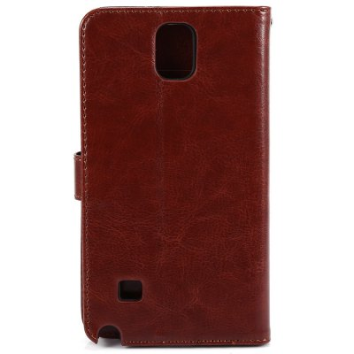 ФОТО Magnetic Card Slot Wallet Stand Leather Flip Case for Samsung Note 4