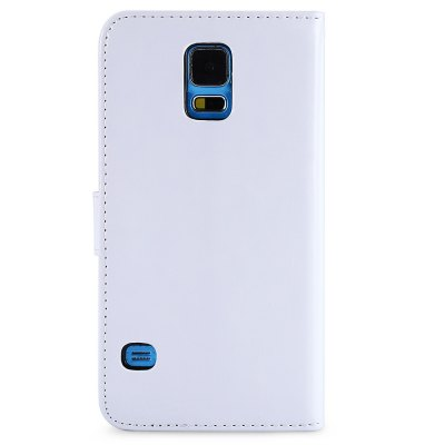 Magnetic Card Slot Wallet Stand Leather Flip Case for Samsung S5