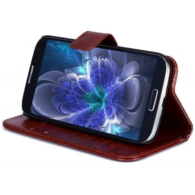 Magnetic Flip Leather Wallet Case Cover for Samsung S4