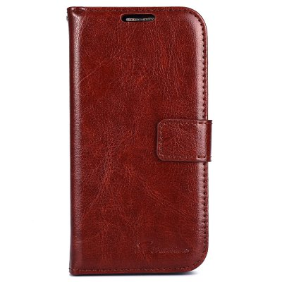 ФОТО Magnetic Card Slot Wallet Stand Leather Flip Case for Samsung S4