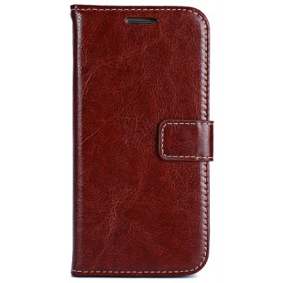 Magnetic Flip Leather Wallet Case Cover for Samsung S6 Edge