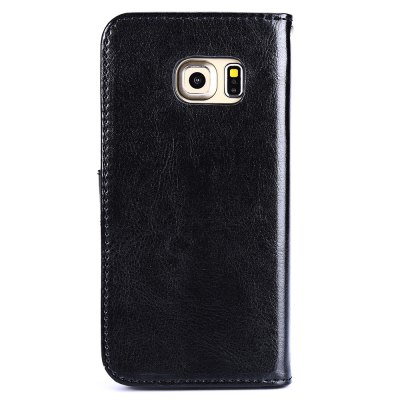 ФОТО Magnetic Card Slot Wallet Stand Leather Flip Case for Samsung S6 Edge