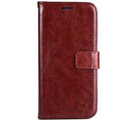 Magnetic Card Slot Wallet Stand Leather Flip Case for Samsung S6