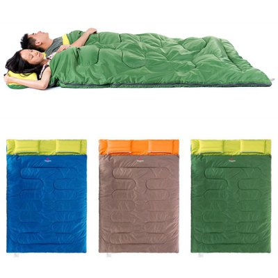 NatureHike 2-Person Sleeping Bag with Pillow
