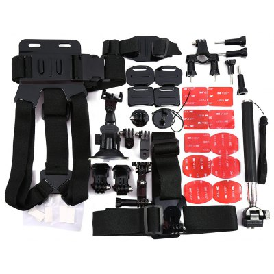 42-in-1 Outdoor Sports Camera Accessories Kit