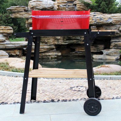 Wheeled Working Stand BBQ Grill Electrophoresis Process Surface