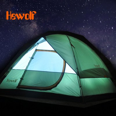 Hewolf Waterproof Camping Tent for 3 - 4 Persons