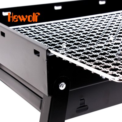 Hewolf 35 x 27cm Folding Camping Grill