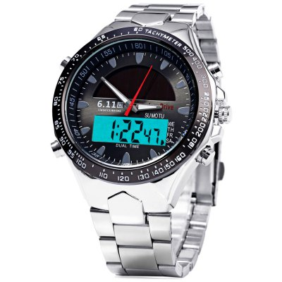6.11 1272 Solar Power LED Watch
