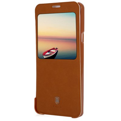 ФОТО Baseus Smart Window Full Cover Stand Case for Samsung Galaxy Note 5