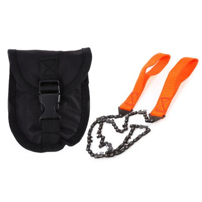 Portable Hand Chain Saw Survival Tool