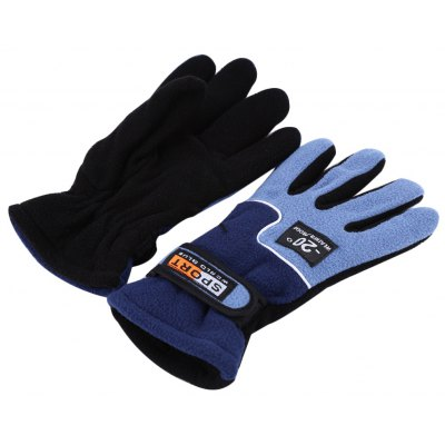 One Pair Full Finger Warm Windproof Gloves