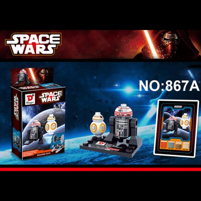 Dargo 867A Star Wars The Force Awakens Mini Figure Assemble Puzzle Toy Intelligent Gift