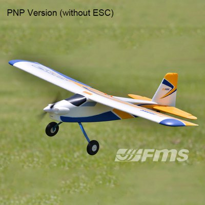 FMS 1220MM Super EZ Fixed-wing Aeroplane PNP Version without ESC