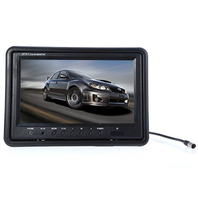 9 inch HD Rear View Parking Backup Camera MonitorCar Monitor<br>9 inch HD Rear View Parking Backup Camera Monitor<br><br>Type: Camera Monitor<br>Screen size: 9 inch<br>Display screen : TFT<br>Connectivity : Wire<br>Material: Electronic Components,Plastic<br>Aspect ratio: 16:9,4?3<br>Product weight: 0.398 kg<br>Package weight: 0.953 kg<br>Product size (L x W x H): 22.800 x 15.000 x 2.500 cm / 8.976 x 5.906 x 0.984 inches<br>Package size (L x W x H): 28.500 x 21.500 x 10.000 cm / 11.220 x 8.465 x 3.937 inches<br>Package Contents: 1 x Monitor, 1 x Bracket, 1 x Connection Cable, 1 x Adhesive Sticker, 1 x Remote Controller, 1 x Back Cover, 1 x English Instruction