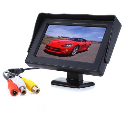 4.3 inch HD Rear View Parking Backup Camera Monitor