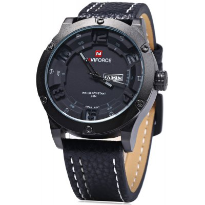 Naviforce 9070 Men Quartz Watch