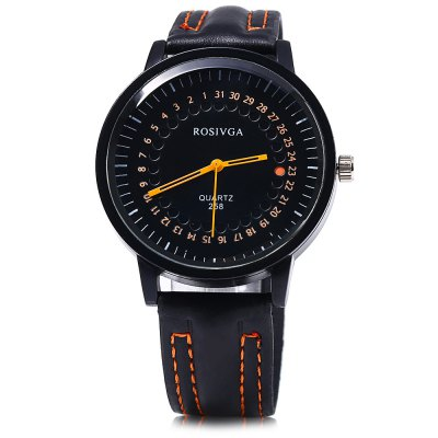 ROSIVGA 258 Men Quartz Watch Leather Band WristwatchMens Watches<br>ROSIVGA 258 Men Quartz Watch Leather Band Wristwatch<br><br>Brand: Rosivga<br>Watches categories: Male table<br>Watch style: Fashion<br>Available color: Red,Blue,Orange,Black<br>Movement type: Quartz watch<br>Shape of the dial: Round<br>Display type: Analog<br>Case material: Stainless Steel<br>Band material: Leather<br>Clasp type: Pin buckle<br>The dial thickness: 0.8 cm / 0.32 inches<br>The dial diameter: 4.2 cm / 1.65 inches<br>The band width: 2 cm / 0.79 inches<br>Wearable length: 17.5 - 22 cm / 6.89 - 8.66 inches<br>Product weight: 0.041 kg<br>Package weight: 0.071 kg<br>Product size (L x W x H): 25.500 x 4.200 x 0.800 cm / 10.039 x 1.654 x 0.315 inches<br>Package size (L x W x H): 26.500 x 5.200 x 1.800 cm / 10.433 x 2.047 x 0.709 inches<br>Package Contents: 1 x Rosivga 258 Watch