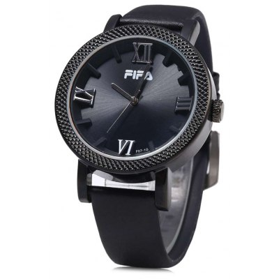 FIFA F07-1G Fashionable Men Quartz Watch Leather Band