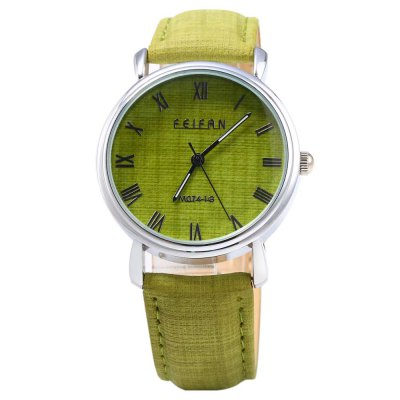 Feifan 62074G Fashionable Men Quartz Watch Leather BandMens Watches<br>Feifan 62074G Fashionable Men Quartz Watch Leather Band<br><br>Brand: FEIFAN<br>Watches categories: Male table<br>Watch style: Casual<br>Watch color: Black, Gray, Deep Gray, Green, Blue<br>Movement type: Quartz watch<br>Shape of the dial: Round<br>Display type: Analog<br>Case material: Stainless Steel<br>Band material: Leather<br>Clasp type: Pin buckle<br>The dial thickness: 0.8 cm / 0.32 inches<br>The dial diameter: 3.7 cm / 1.46 inches<br>The band width: 1.7 cm / 0.67 inches<br>Wearable length: 16.5 - 21 cm / 6.5 - 8.27 inches<br>Product weight: 0.035 kg<br>Package weight: 0.065 kg<br>Product size (L x W x H): 24.000 x 3.700 x 0.800 cm / 9.449 x 1.457 x 0.315 inches<br>Package size (L x W x H): 25.000 x 4.700 x 1.800 cm / 9.843 x 1.850 x 0.709 inches<br>Package Contents: 1 x Feifan 62074G Quartz Watch