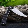 Sanrenmu 7112 RUC-LH Pocket Knife with Clip deal