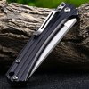 best Sanrenmu 7112 RUC-LH Pocket Knife with Clip