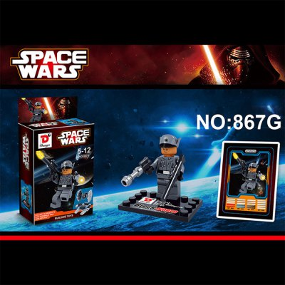 Dargo 867G Star Wars The Force Awakens Mini Figure Assemble Puzzle Toy Intelligent Gift