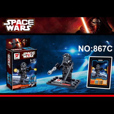 Dargo 867C Star Wars The Force Awakens Mini Figure Assemble Puzzle Toy Intelligent GiftBlock Toys<br>Dargo 867C Star Wars The Force Awakens Mini Figure Assemble Puzzle Toy Intelligent Gift<br><br>Materials: ABS<br>Theme: Movie and TV<br>Gender: Unisex<br>Completeness: Semi-finished Product<br>Stem From: Europe and America<br>Package weight: 0.020 kg<br>Package size: 14.500 x 12.000 x 8.000 cm / 5.709 x 4.724 x 3.150 inches<br>Package Contents: 1 x Block Set