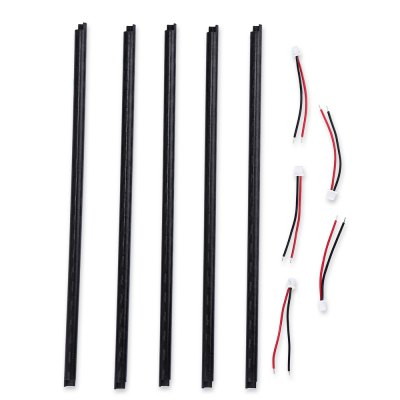 Spare K120 - 016 Tail Boom + Tail Motor Connecting Cable Set for XK K120 RC Helicopter