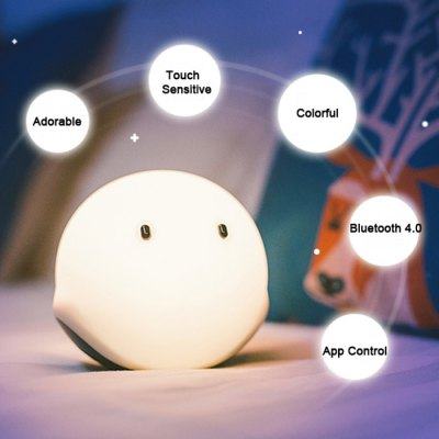 EMIE Elfy Touch Control Bouncy LED Night Light
