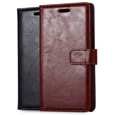 Magnetic Card Slot Wallet Stand Leather Flip Case for Huawei Ascend P7