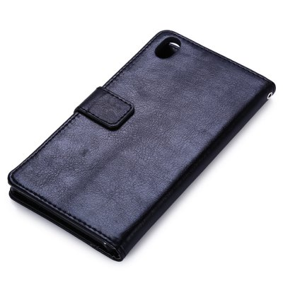 Magnetic Card Slot Wallet Stand Leather Flip Case for Sony Xperia Z3