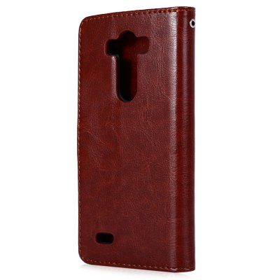 Magnetic Card Slot Wallet Stand Leather Flip Case for LG G3