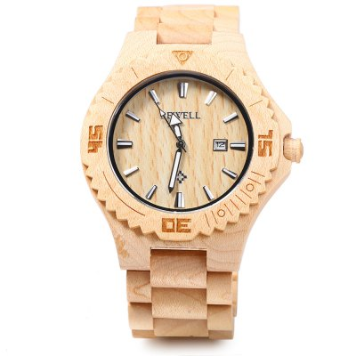Bewell ZS-W023B Male Wooden Quartz WatchMens Watches<br>Bewell ZS-W023B Male Wooden Quartz Watch<br><br>Brand: Bewell<br>Watches categories: Male table<br>Watch style: Casual,Fashion<br>Style elements: Sandalwood<br>Movement type: Quartz watch<br>Shape of the dial: Round<br>Display type: Analog<br>Hour formats: 12 Hour<br>Case material: Wood<br>Band material: Wood<br>Clasp type: Folding clasp with safety<br>Special features: Date<br>The dial thickness: 1.2 cm / 0.47 inches<br>The dial diameter: 4.6 cm / 1.81 inches<br>The band width: 2.5 cm / 0.98 inches<br>Product weight: 0.072KG<br>Package weight: 0.100 KG<br>Product size (L x W x H): 12.000 x 5.000 x 2.000 cm / 4.724 x 1.969 x 0.787 inches<br>Package size (L x W x H): 13.000 x 6.000 x 3.000 cm / 5.118 x 2.362 x 1.181 inches<br>Package Contents: 1 x Bewell Men Quartz Watch