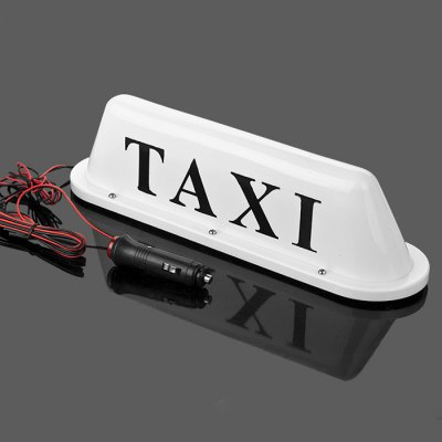 HEXIANG 12V 1.8W LED Taxi Cab Top Roof Lamp Light